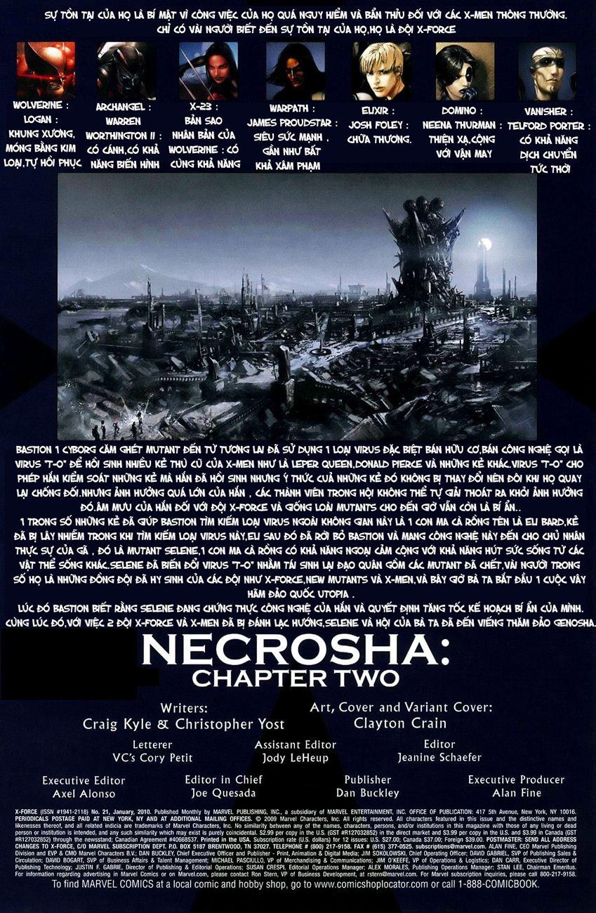 X-Men Necrosha chap 3 trang 2