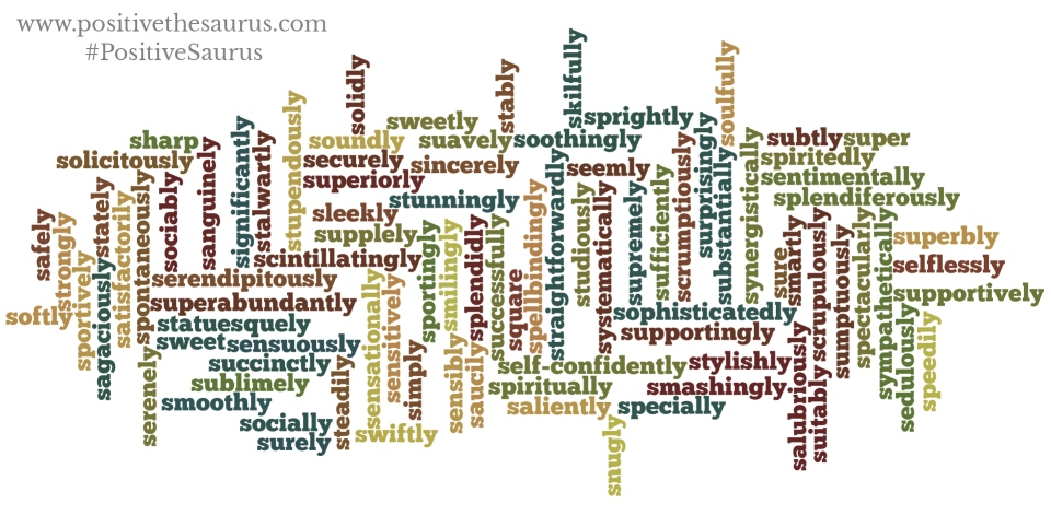 adjectives that start with the letter s positive adverbs that start with s 20163