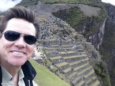 Jim Carrey, Machu Picchu Hollywood, celebrities Machu Picchu