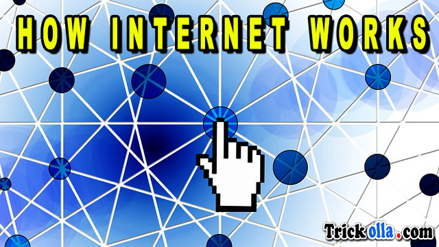 how internet works