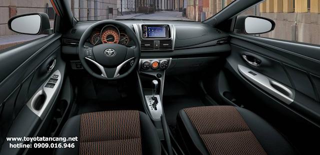 Động cơ Toyota Yaris cũng không hề kém cạnh so với Mazda 2