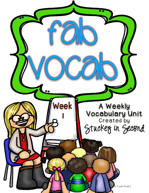 Fab Vocab: Weekly Vocabulary Units