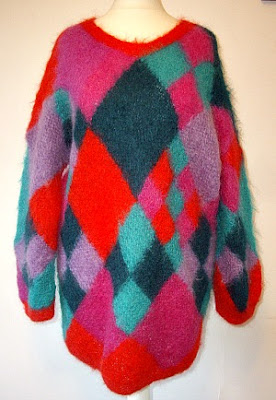 1980s Ladies mohair jumper