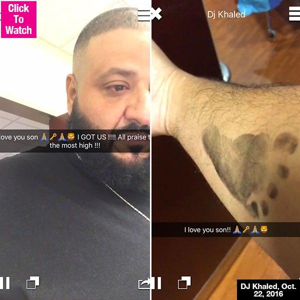 DJ Khaled Welcomes Baby Boy & Snapchats The Entire Birth