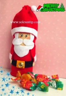 Dulcero-navideño-reciclado
