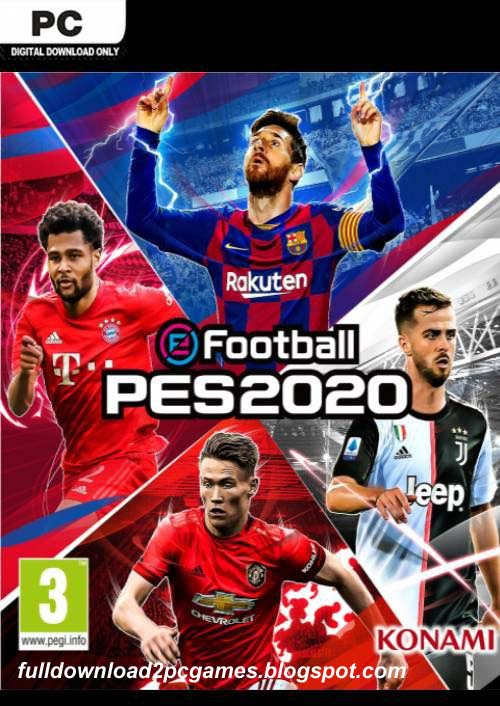 This Is An Excellent Football Simulation Sports Video Game Developed By PES Productions Influenza A virus subtype H5N1 eFootball PES 2020 Free Download PC Game