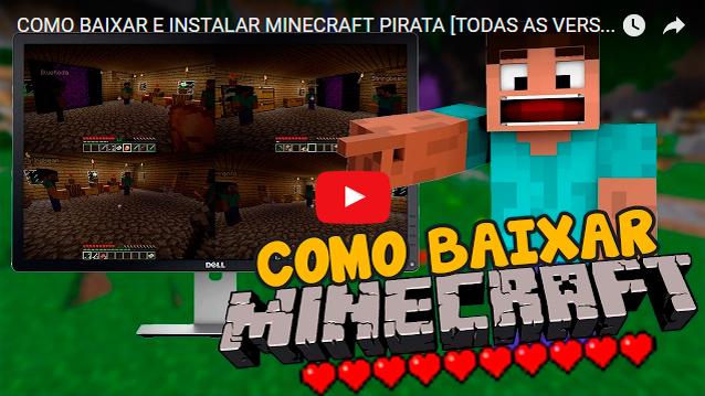 Launcher Minecraft Pirata Baixar Minecraft Grátis Com Skins - Baixar skins para minecraft de pc