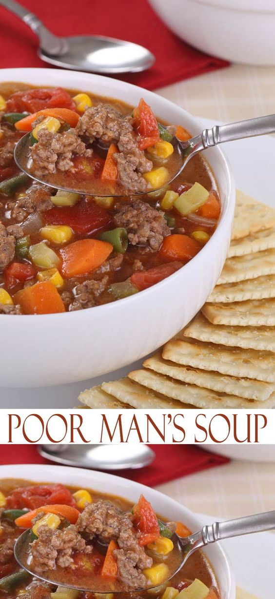 POOR MAN'S SOUP #poorman #poormansoup #soup #souprecipes #easysouprecipes