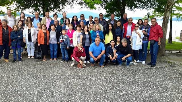 Εκδρομή των κατοίκων του Κουρτακίου στα Μετέωρα και την Λίμνη Πλαστήρα