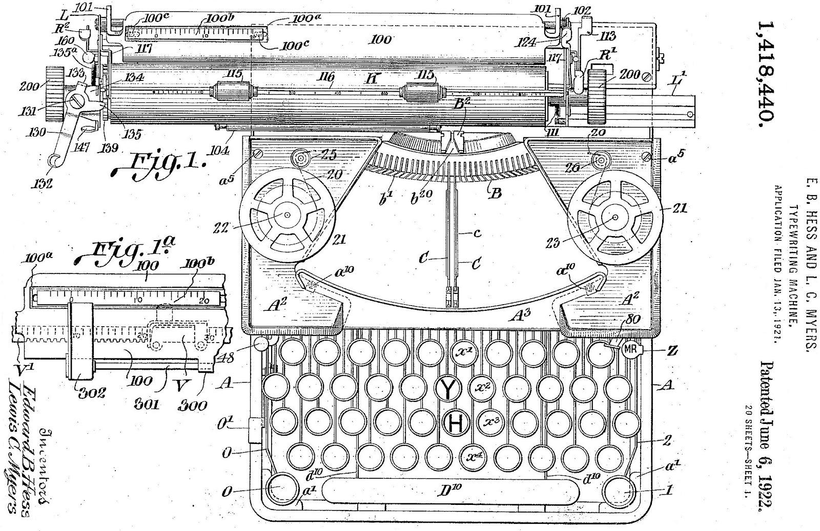 Oz Typewriter The First Royal Portable Typewriter 90