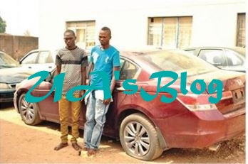 Photo: See Face Of Two Fake Soldiers Arrested For Robbing A Real Soldier In Abuja