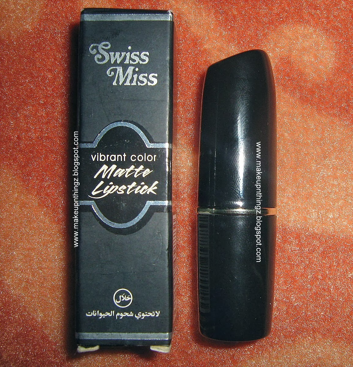 Swiss miss matte lipstick m 263 pretty pink review swatches for Mac due the box