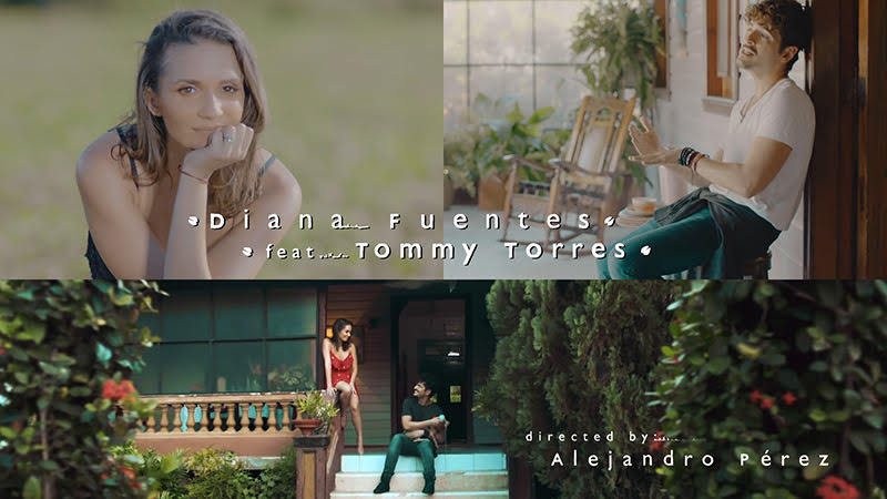 Diana Fuentes y Tommy Torres - ¨La Fortuna¨ - Videoclip - Dirección: Alejandro Pérez. Portal del Vídeo Clip Cubano