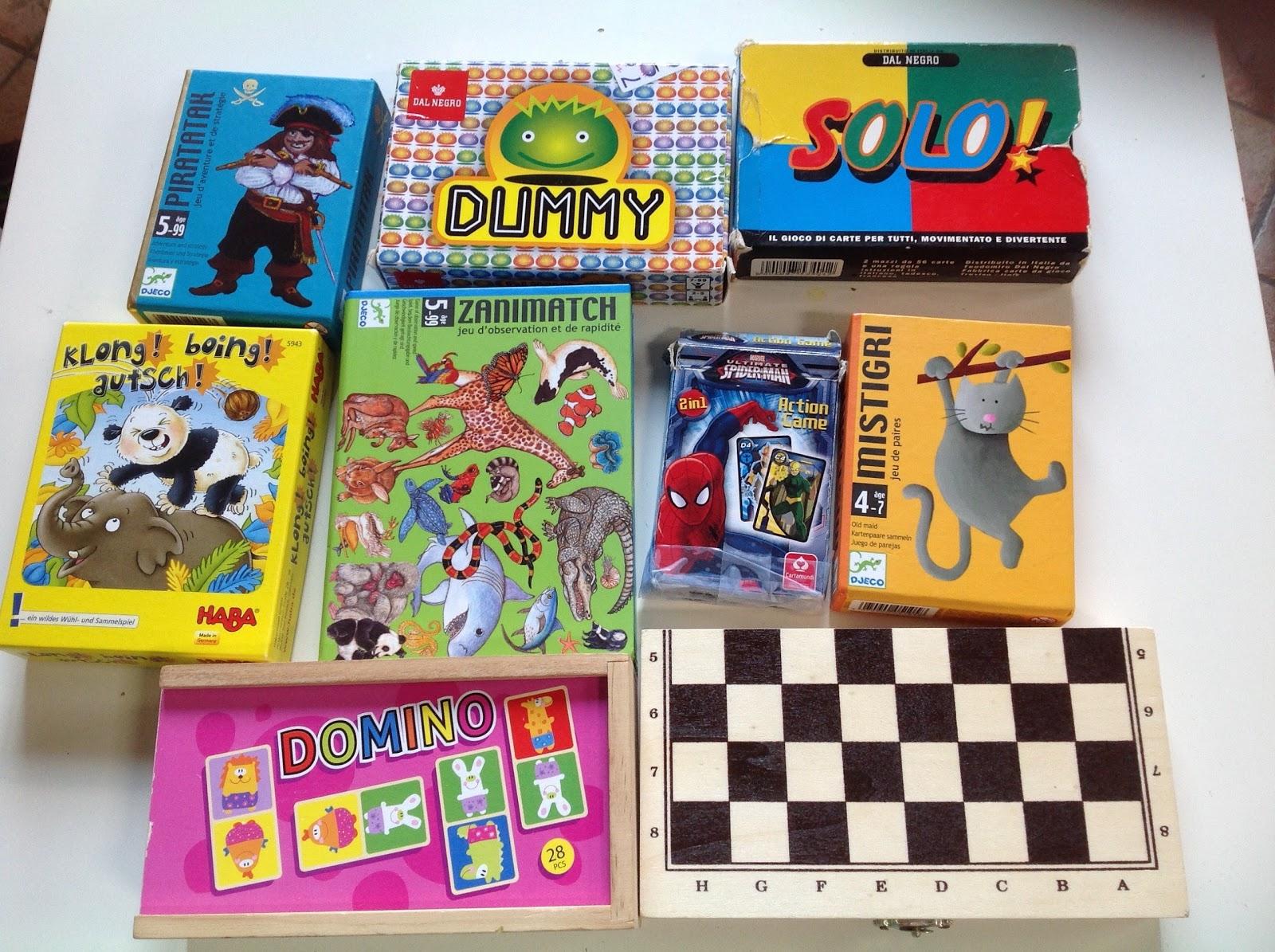 Tavoli Da Gioco Per Bambini : Mammavvocato giochi di carte e da viaggio per bambini
