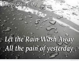 happy rainy day