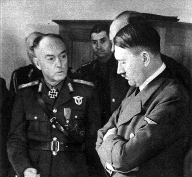 Hitler and Antonescu, 6 August 1941 worldwartwo.filminspector.com
