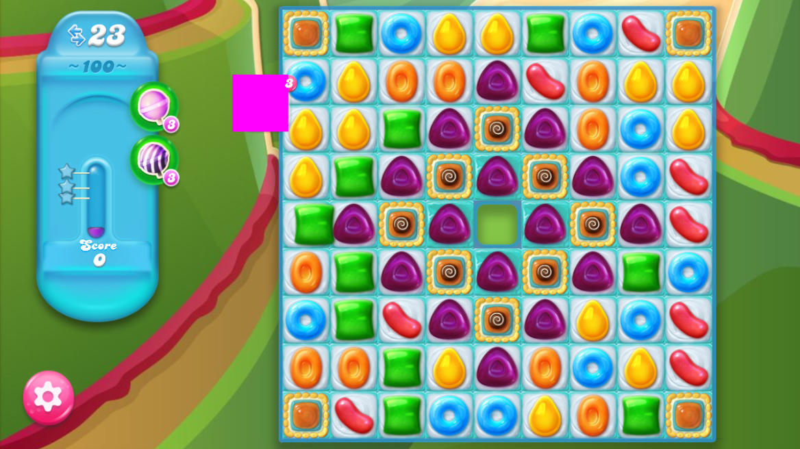Candy Crush Jelly Saga 100