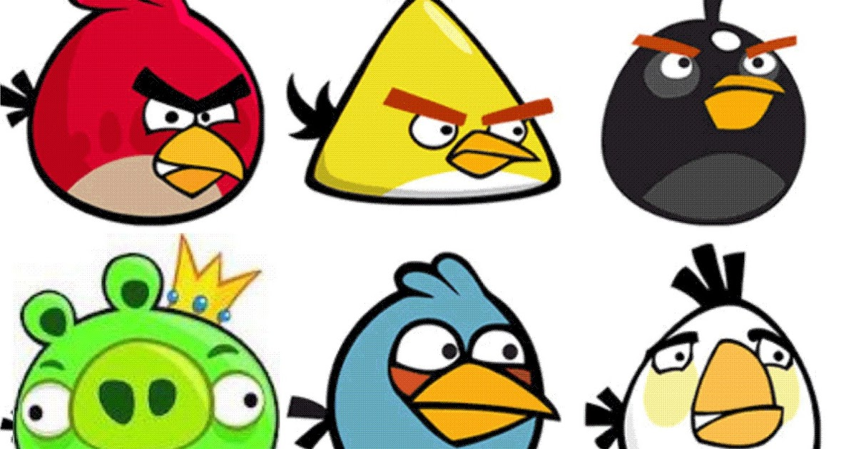 Personagem Angry Birds: Enjoy The HandMade: Hama Beads Angry Birds
