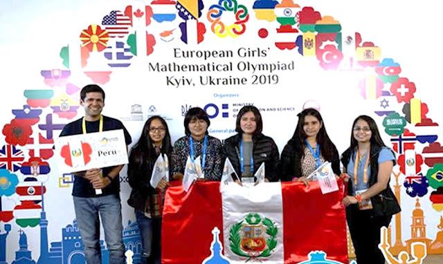 Peruana de 14 años gana medalla de oro en Olimpiada Europea de Matemática