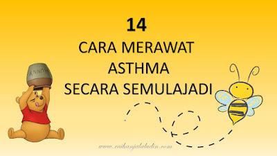 14 Cara Merawat Asthma Secara Semulajadi