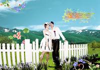 China Wedding Photos Editing PSD