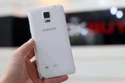 Samsung Note 4 có su dung 4G tai Việt Nam khong