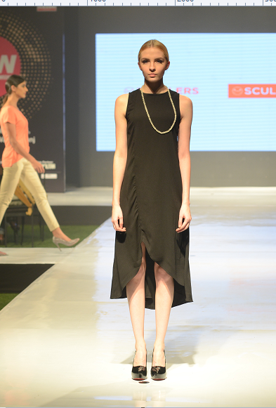 Scullers-outfit on model