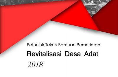 Petunjuk Teknis Bantuan Pemerintah RDA Tahun 2018