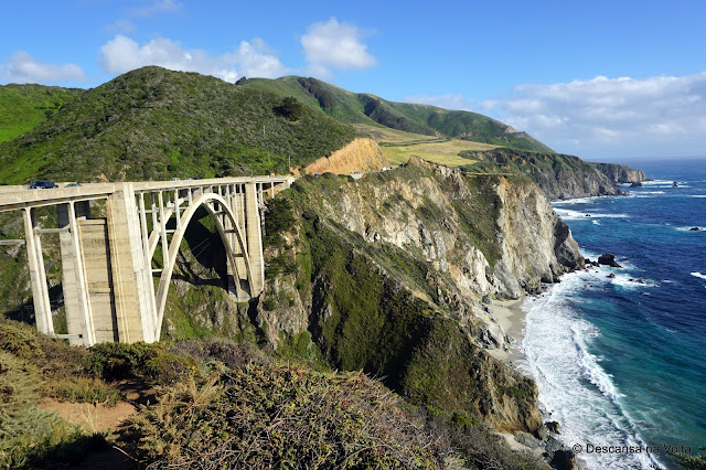 Bisbt Creek Bridge Big Sur