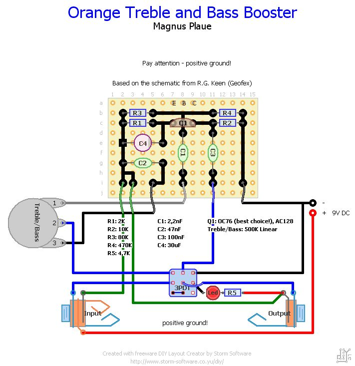 stompboxed the guitar pedal builders repository orange treble and bass booster. Black Bedroom Furniture Sets. Home Design Ideas