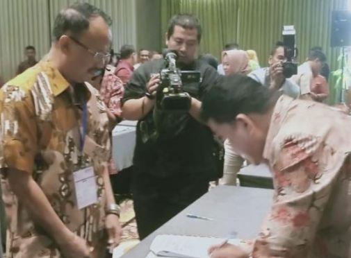 Dinkes Kab. Kep. Selayar, Dukung Kerjasama Program Internship Dokter Indonesia.