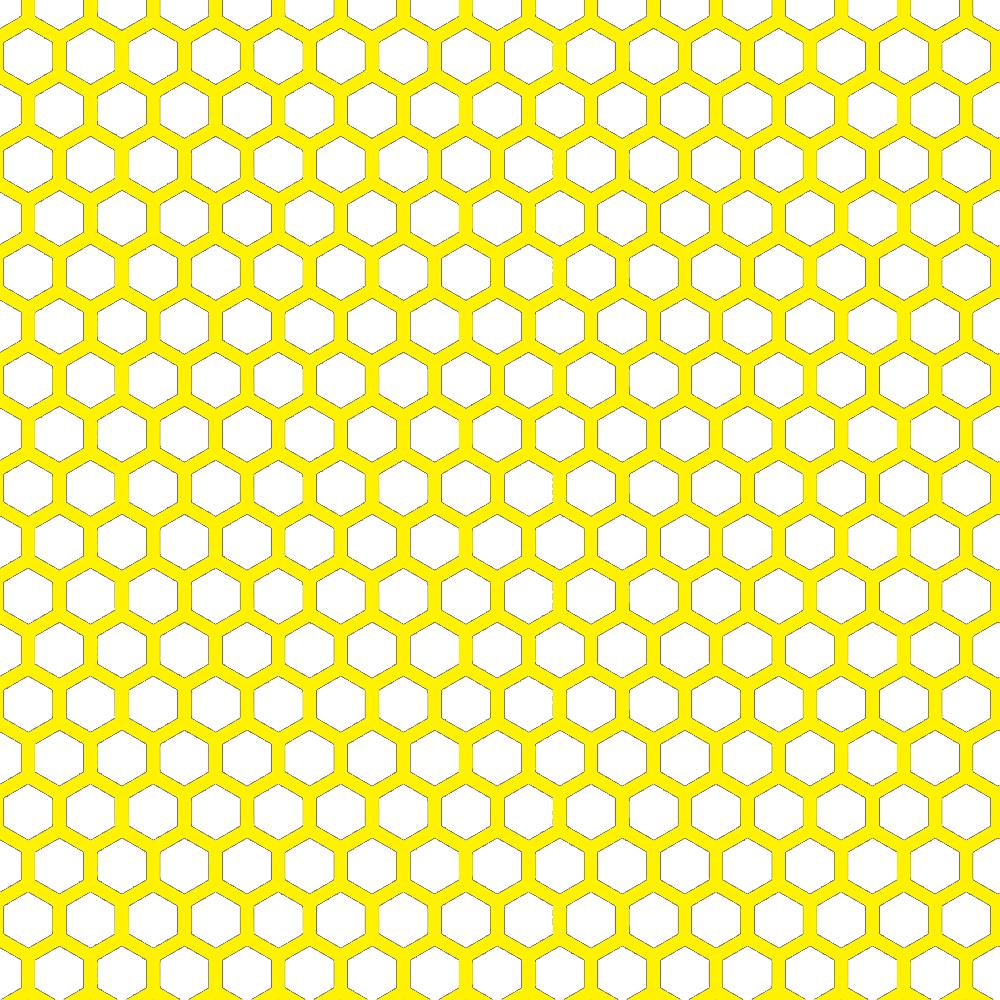 Printable Wallpaper: Doodlecraft: Delicious Honeycomb Hexagon Freebies