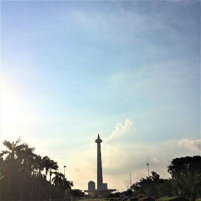 Monumen Nasional Jakarta, Indonesia