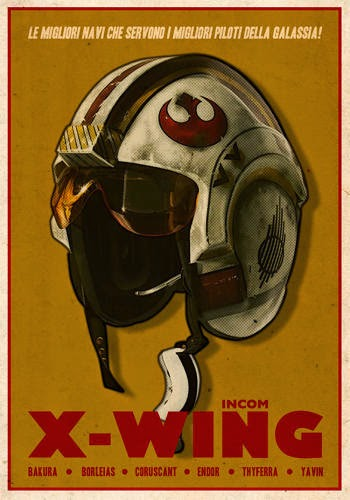 Star Wars Reimagined As WWII-Style Propaganda Posters -