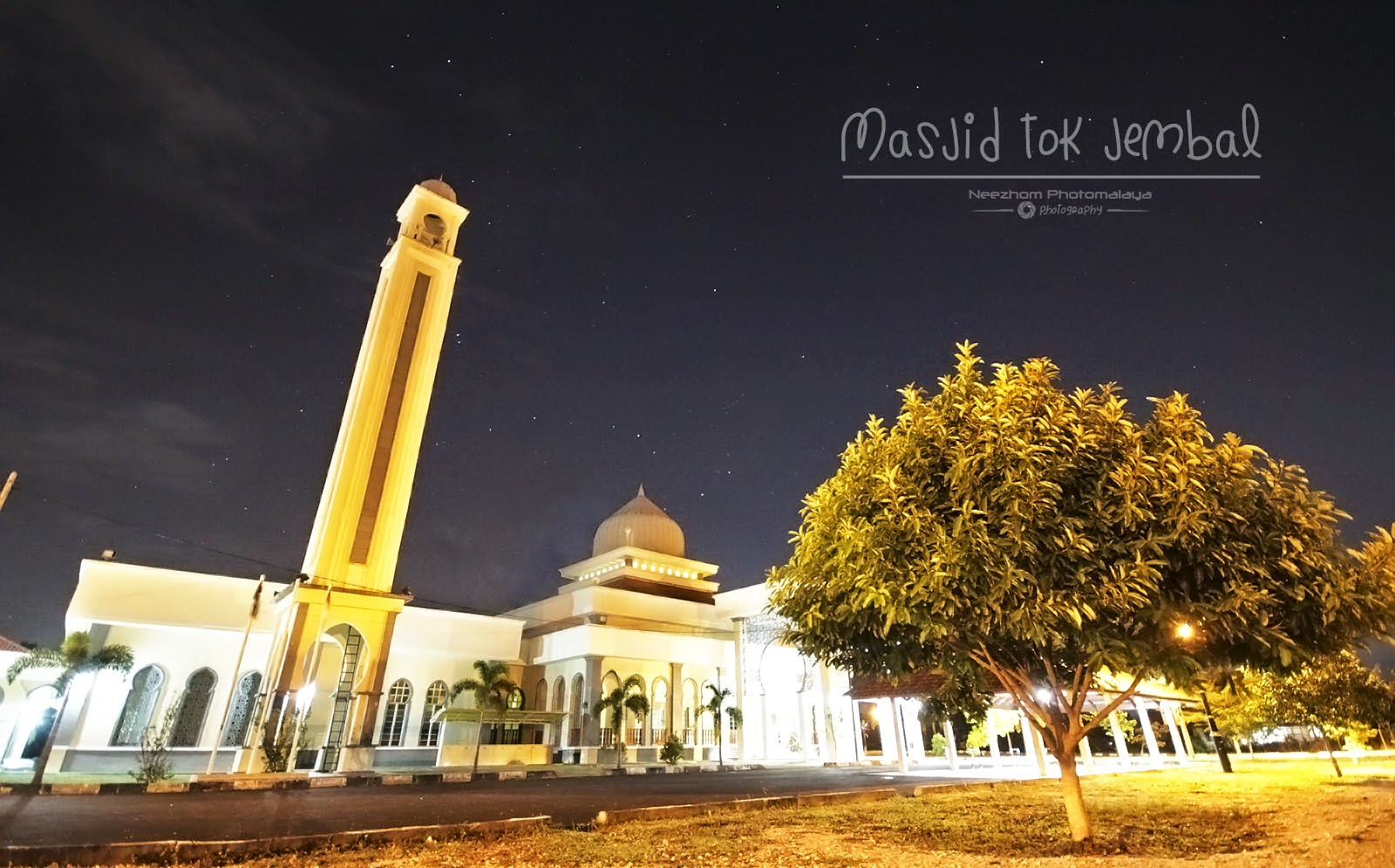 Masjid Tok Jembal night shot