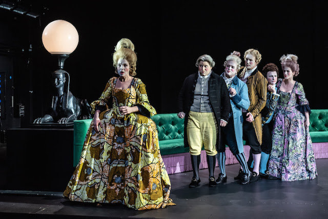 Handel: Berenice - Claire Booth, Alessandro Fisher, William Berger, James Laing, Patrick Terry, Rachael Lloyd - London Handel Festival, Royal Opera -(C) ROH 2019 Photo Clive Barda*
