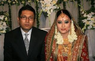 Zakia Bari Momo and Her Husband Ejaz Munna