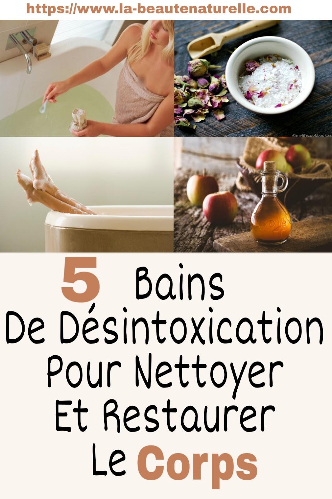 5 Bains De Désintoxication Pour Nettoyer Et Restaurer Le Corps