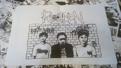 Unit Hardcore asal Cipanas Rotten rilis EP perdana 'Threat EP'