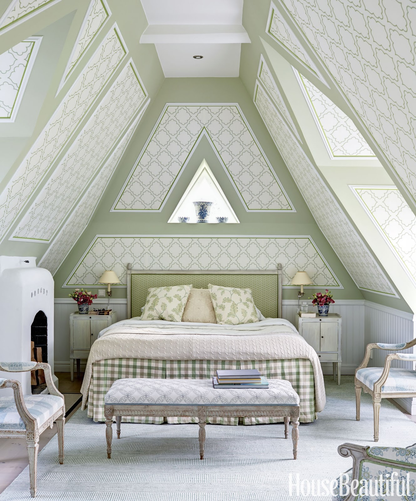 Summer Bedroom Style And Design Ideas: Hydrangea Hill Cottage: Loving This Swedish Home By