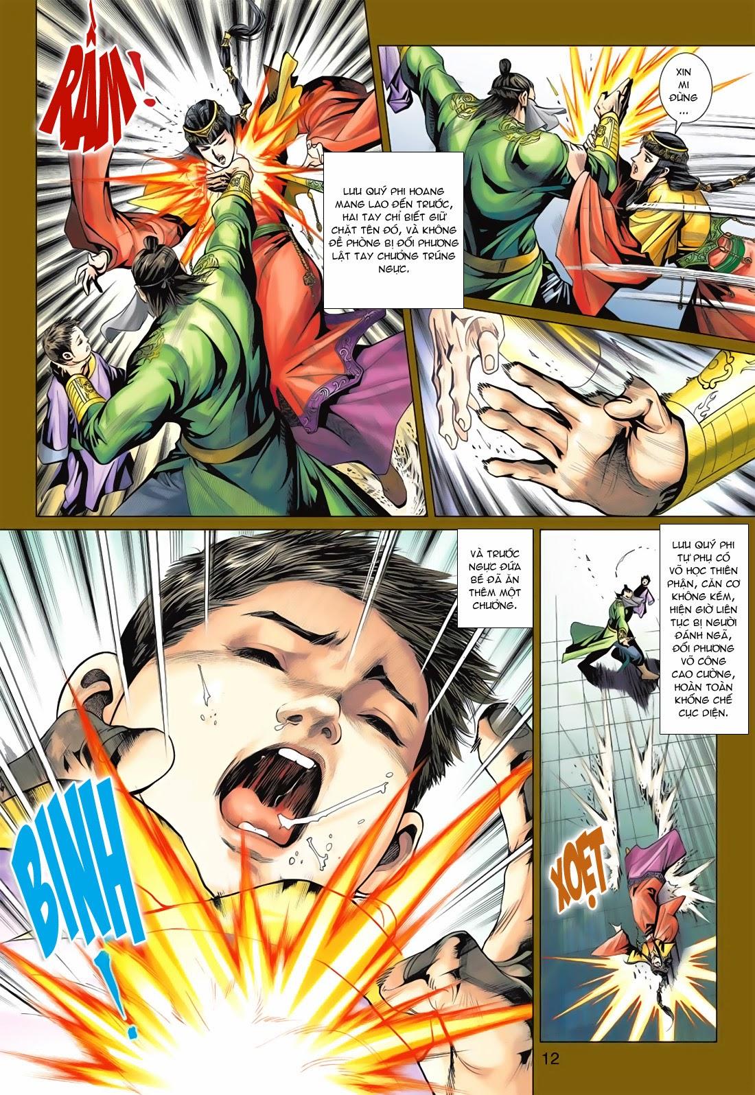 Anh Hùng Xạ Điêu anh hùng xạ đêu chap 78: sát anh trang 12