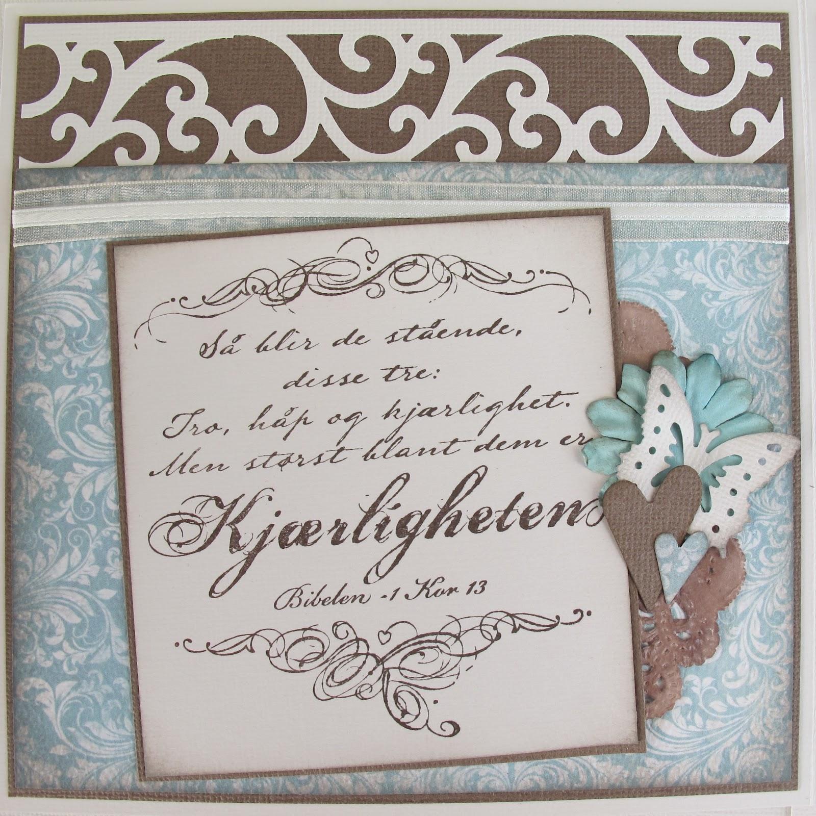 Unik Hobby: Bryllupskort...