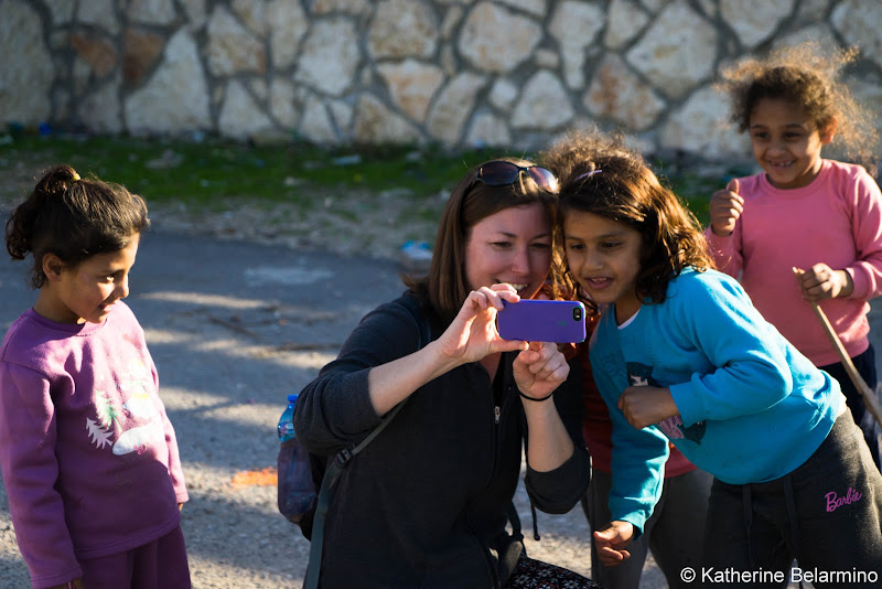 Selfie Jisr az-Zarqa Israel