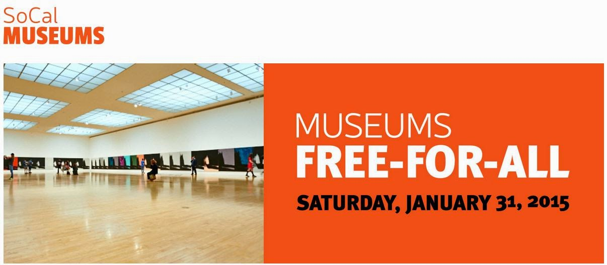 GET CULTURED THIS WEEKEND JAN. 31ST / FEB. 1ST WITH OVER 20 MUSEUMS FREE FOR ALL!