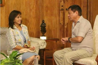 President Rodrigo Duterte, VP Leni Robredo, courtesy call