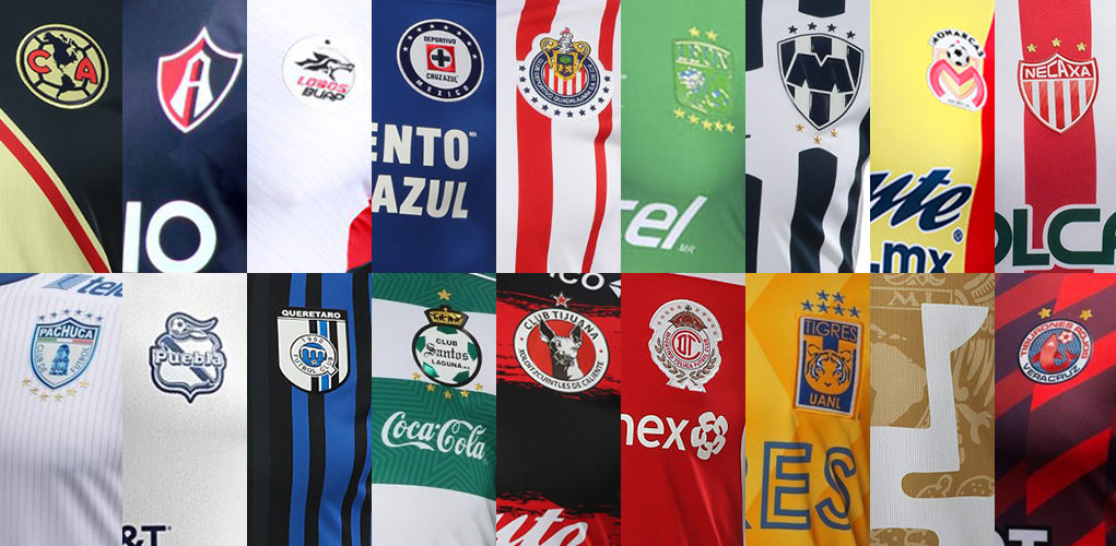 b611d62c3 2018-19 Liga MX Kits Overview - All Mexican League 18-19 Jerseys ...