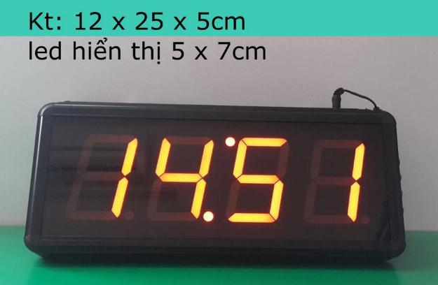 Đồng hồ led hiển thị 4 số giá rẻ