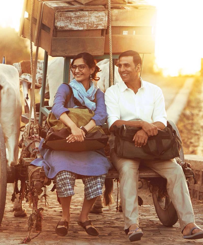 Sonam Kapoor and Akshay Kumar in Padman