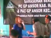 Video GP Ansor Joget Dengan Biduan Dangdut Rok Mini, Netizen: Pantesan Ansor Suka Bubarin Pengajian
