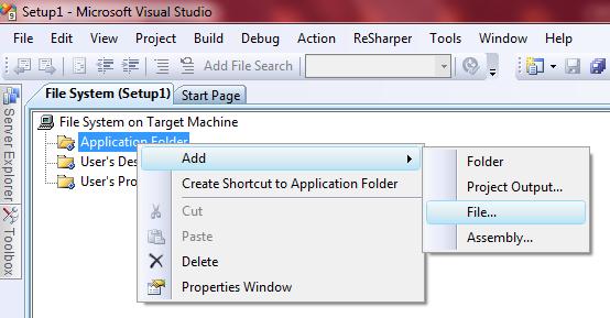 C# - Create Windows Form Application Setup File in C# Net - ASP NET